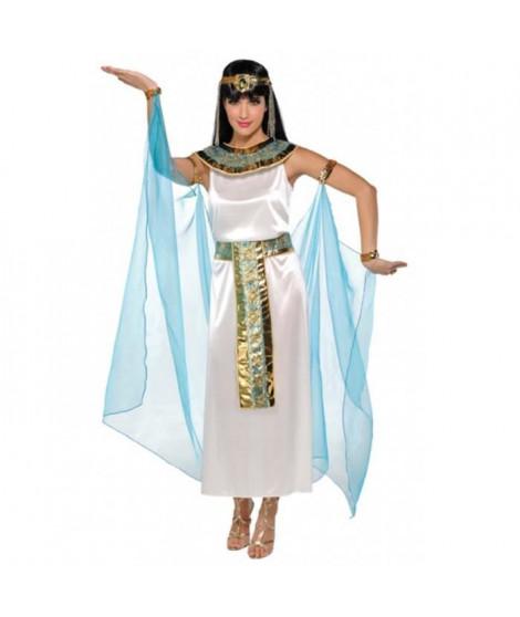 AMSCAN Costume Femme Cléopatre - Robe Cape Colerette et Diademe