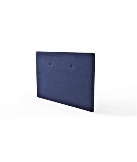 Tete de lit L 165 cm - Tissu Marine - TALLY
