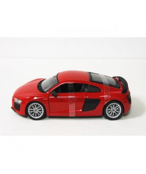 MAISTO Véhicule Maisto en métal Audi R8 V10 rouge a l'échelle 1/24eme