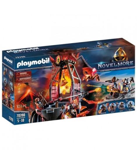PLAYMOBIL 70390 - Novelmore - Mine de lave des chevaliers Burnham Raiders - Nouveauté 2020