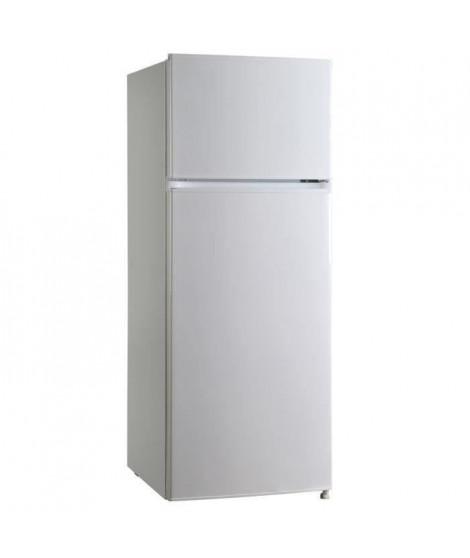 OCEANIC OCEAF2D207W - Réfrigérateur Congélateur haut - 207 L (166 + 41 L ) - Froid statique - A+ - L 55 x H 143 cm - Blanc