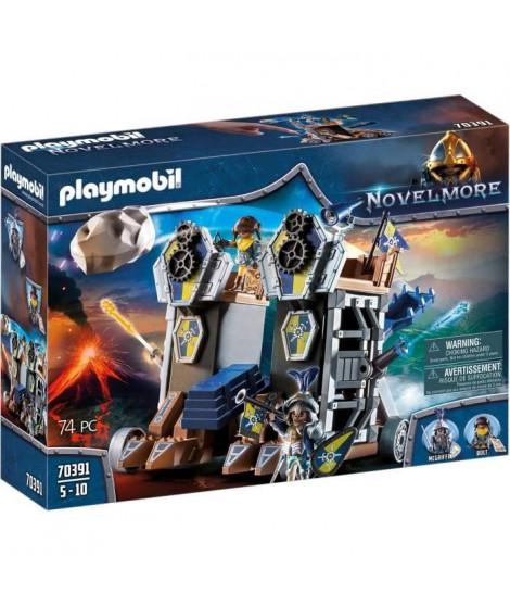 PLAYMOBIL 70391 - Novelmore - Tour d'attaque mobile des chevaliers Novelmore - Nouveauté 2020