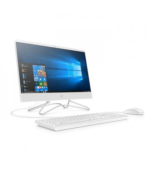 HP PC All-in-One 22-c0102nf - 22FHD - i3-9100T - RAM 8Go - Stockage 128Go SSD + 2To HDD - Windows 10