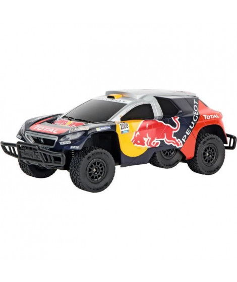 CARRERA Voiture télécommandée Peugeot Red Bull Dakar Echelle 1/16