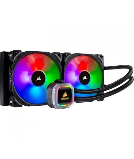 CORSAIR Kit de refroidissement Hydro Series H115i RGB PLATINUM - Radiateur 280mm - Éclairage RGB (CW-9060038-WW)