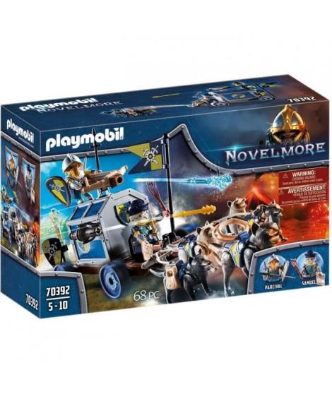 PLAYMOBIL 70392  - Novelmore - Char du trésor des chevaliers Novelmore - Nouveauté 2020