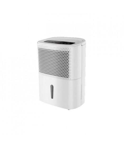 EVATRONIC / SANEO Déshumidificateur électronique 10 L - Réservoir 2 L - Drainage permanent - Mode automatique - Fonction séch…