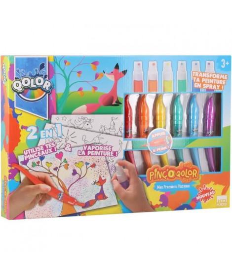 KD KIDS Coffret stylo et spray de peinture Pinc'o Qolor