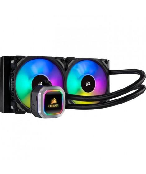 CORSAIR Hydro Series™ H100i RGB Platinium refroidisseur liquide de 240mm pour processeur - (CW-9060039-WW)