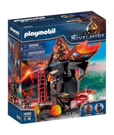 PLAYMOBIL 70393 - Novelmore - Tour d'attaque mobile des chevaliers Burnham Raiders - Nouveauté 2020