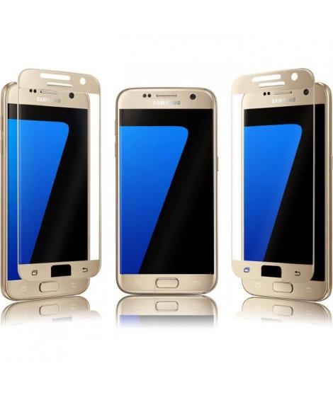 QDOS Protection écran pour Galaxy S7 - Doré