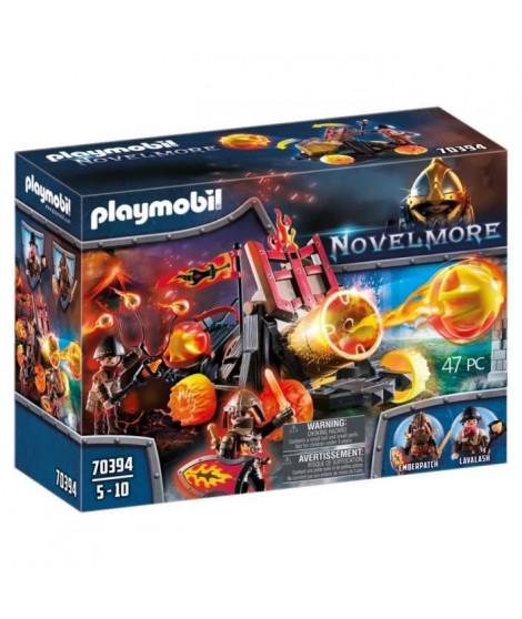 PLAYMOBIL 70394 - Novelmore - Catapulte a lave des chevaliers Burnham Raiders - Nouveauté 2020