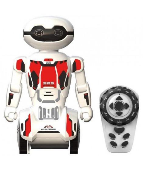 SILVERLIT - Macrobot - Robot Humanoide radiocommandé - Blanc & Rouge