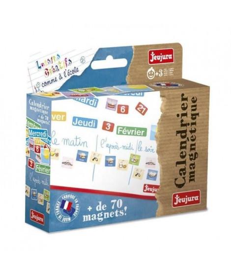 JEUJURA Magnets pour tableau Calendrier - Coffret De 80 Caracteres