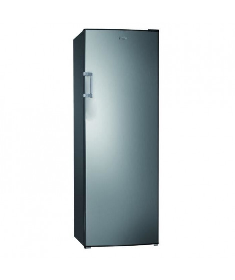 HAIER HUL-676S - Réfrigérateur 1 porte - 335L - Froid statique - A+ - L 60cm x H 170cm - Silver