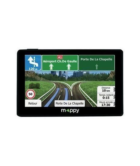 MAPPY Ulti X585 CAMP Lifetime GPS Camping-Car