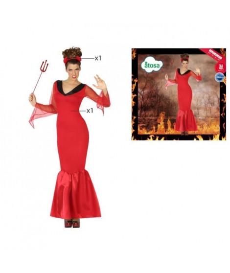 ATOSA Déguisement Démon - Femme - Rouge