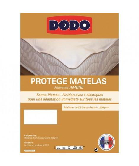 DODO Protege matelas AMBRE 160x200cm Plateau