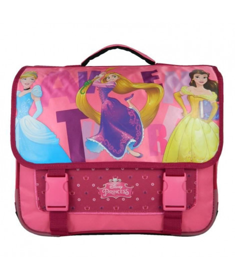 PRINCESS Cartable - 2 Compartiments - 38 cm - Rose