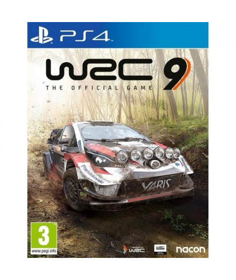 WRC 9 Jeu PS4