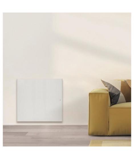 AIRELEC COXY A694205 Radiateur a Inertie Réfractite - Horizontal 1500W - Coloris Blanc - Fabrication Française - Programmable
