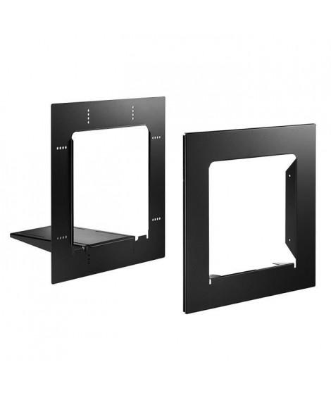 DECAYEUX Cadre d'encastrement spécial eolys, océanis, R-BOX Lys, Profil+ noir