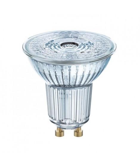 BELLALUX Lot de 10 Ampoules LED Spot PAR16 verre 4,3W50 GU10 froid