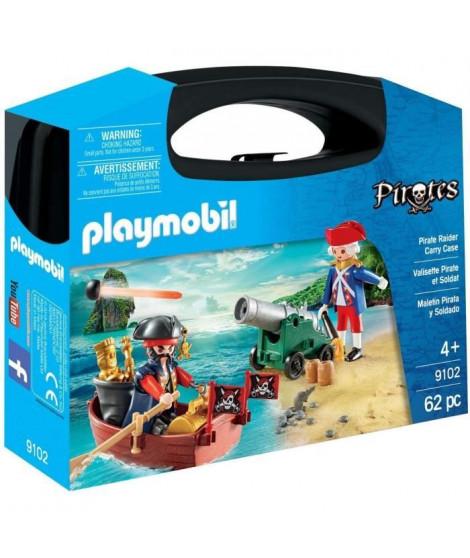 PLAYMOBIL 9102 - Valisette Pirate et Soldat