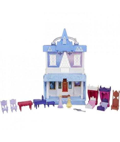 Disney La Reine des Neiges 2 - Pop up - Mini Château d'Arendelle des poupees Elsa et Anna - 2 étages
