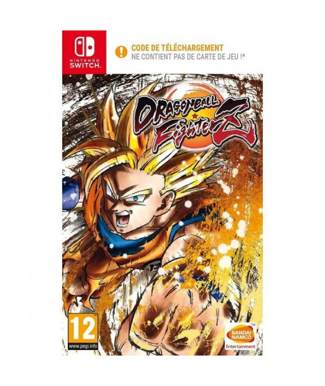 Dragon Ball Fighterz Jeu Nintendo Switch - Code in a box