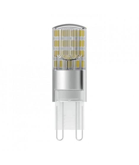 BELLALUX Lot de 9 Ampoules LED Capsule dépoli 2,6W30 G9 chaud