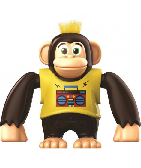 YCOO - Chimpy le Singe - 15 CM - Jaune