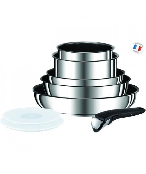 TEFAL INGENIO PREFERENCE Batterie de cuisine 8 pieces L9409802 18-20-22-24-28cm Tous feux dont induction inox