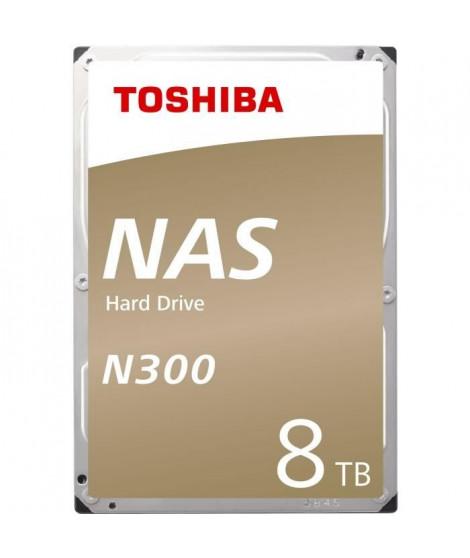 TOSHIBA - Disque dur Interne - N300 - 8To - 7 200 tr/min - 3.5 (HDWN180EZSTA)