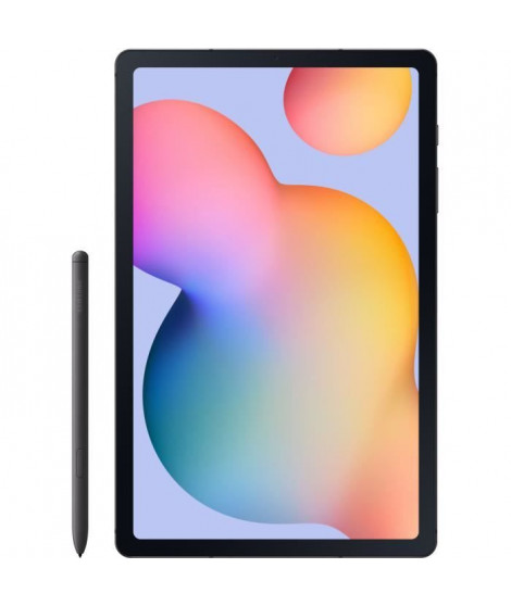 Tablette Tactile - SAMSUNG Galaxy Tab S6 Lite - 10,4 - RAM 4Go - Stockage 64Go - Android 10 - Argent - 4G