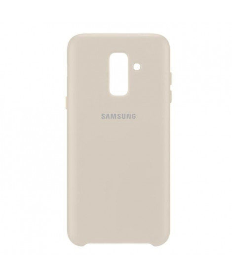Samsung Coque double protection A6+ Or