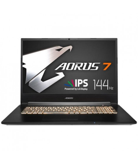GIGABYTE PC Portable - AORUS 7 SA-7FR1130SH - 17,3 LG FHD - 144Hz - Core i7-9750H - RAM 16Go - 512Go SSD - GTX 1660 TI - Wind…