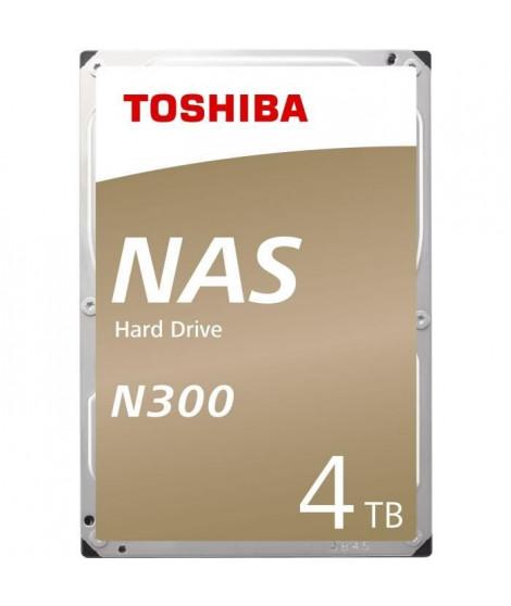 TOSHIBA - Disque dur Interne - N300 - 4To - 7 200 tr/min - 3.5 (HDWQ140EZSTA)