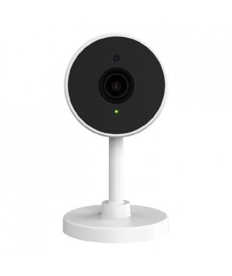 Logicom Home Cammy Caméra connectée (Vidéo Full HD 1080px - Vision Nocturne & Détection de mouvements - Fonction '' HOME_CAMM