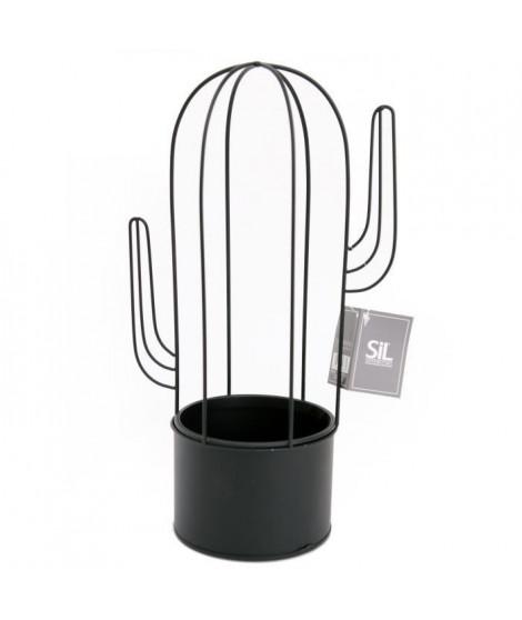 Support de plante en forme Cactus - 19 x 12 cm