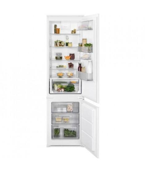 ELECTROLUX  - ENN3012AOW - Réfrigérateur combiné encastrable - 285L ( 231L + 72L) - A++ - L54cm x H188,4cm - Blanc