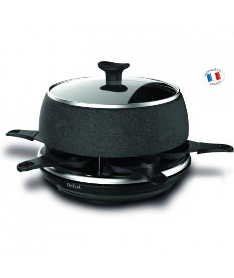 TEFAL RE12C812 Raclette Cheese N'Co - 6 personnes - Noir
