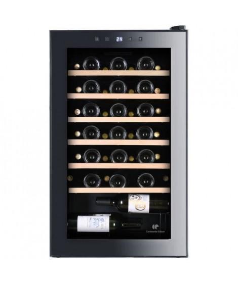 CONTINENTAL EDISON CECWC48LED - Cave a vin de service - 48 bouteilles - pose libre - Classe B - L50 x H85,5 cm -