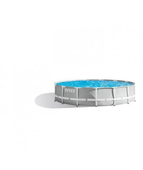 INTEX Kit piscine tubulaire Prism Frame - Ø457 x 106 cm