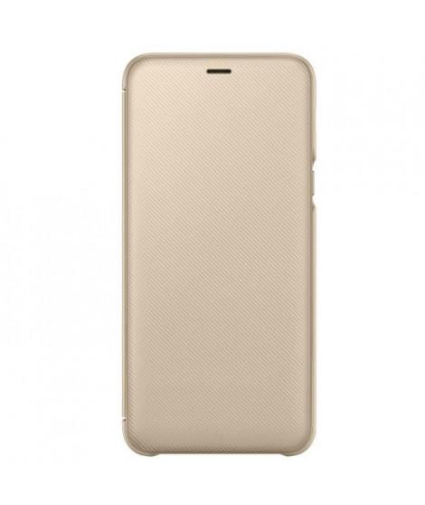 Samsung Etui Flip Wallet A6+ Or