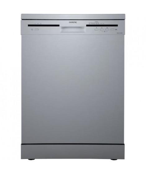 OCEANIC - Lave-vaisselle - 12 couverts - 49 dB - A++AA - départ différé - Silver