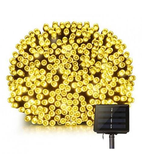 LUMI JARDIN Guirlande lumineuse solaire Yogy Solar - Lumiere blanc chaud solaire - 400 LED - 3300 cm