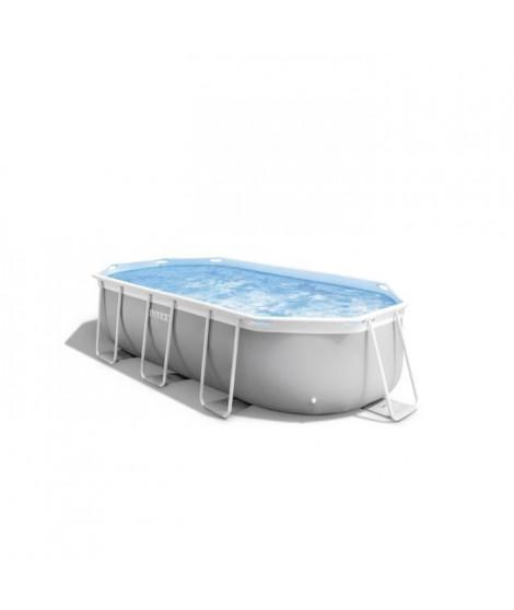 INTEX Kit piscine Prism Frame - 400 x 200 x 100 cm
