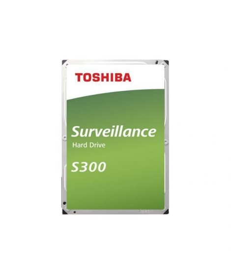 TOSHIBA - Disque dur Interne - S300 - 10To - 7 200 tr/min - 3.5 (HDWT31AUZSVA)