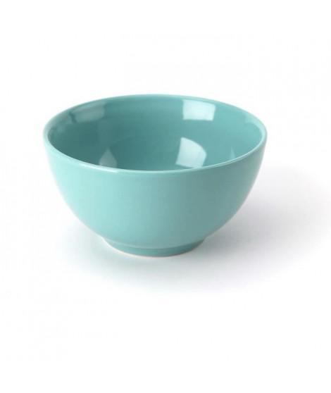 TTD Lot 6 bols A04981/01 14cm - vert bleu